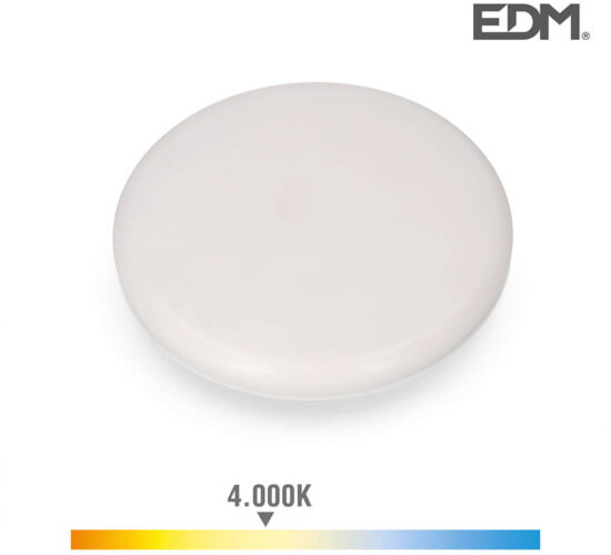 Downlight led superficie/empotrable 24w 1680lm 4000k luz dia enclavamiento regulable edm