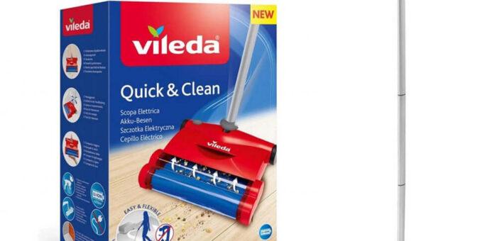 Quick and clean escoba electrica 153035 Vileda